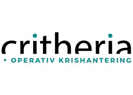 Hemsida & logotype åt Critheria