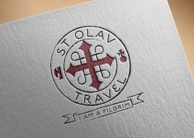 Logotype åt katolskt resebolag